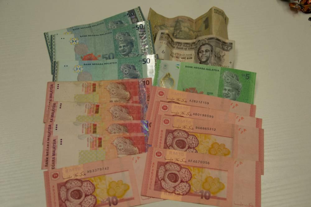 Geldscheine aus Malaysia